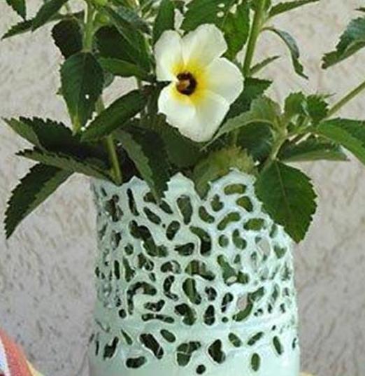 教你用饮料瓶diy手工制作精美宜家花瓶的做法图解