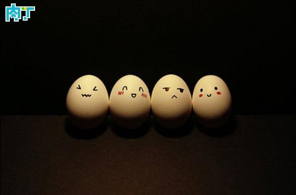 鸡蛋壳上的笑脸图片大全-by