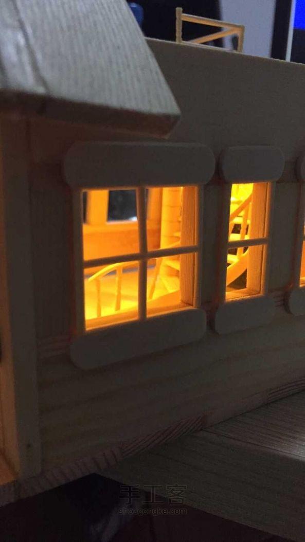 木板 筷子 牙签的小房子.