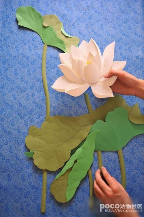 动物纸浮雕学生作品手工
