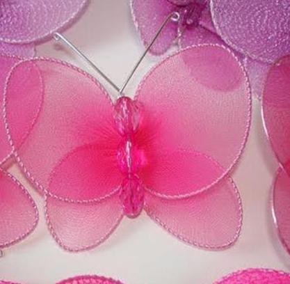 手工diy漂亮蝴蝶的做法图解 很可爱的小蝴蝶,做起来也简单.