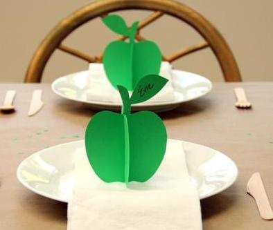 剪纸大全 手工制作3d苹果