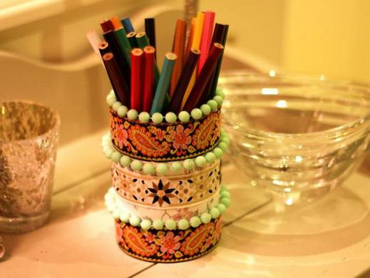 手工制作的笔筒创意设计图片大全