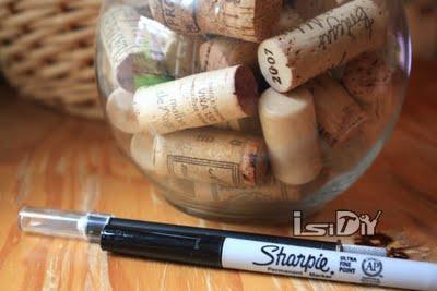 tags:废物利用手工创意红酒木塞印章